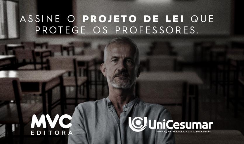 Projeto de mobilização e legislação prevê a aprovação da 1ª Lei nacional no combate a violência contra professores